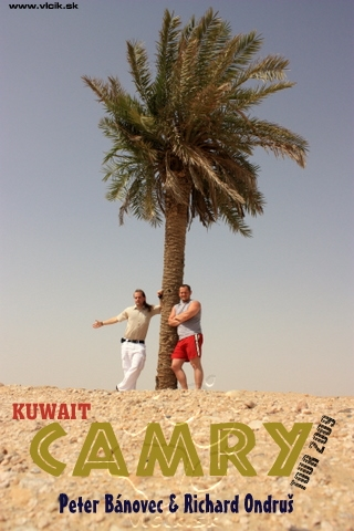 Cesta na sever Kuwaitu s TOYOTOu CAMRY