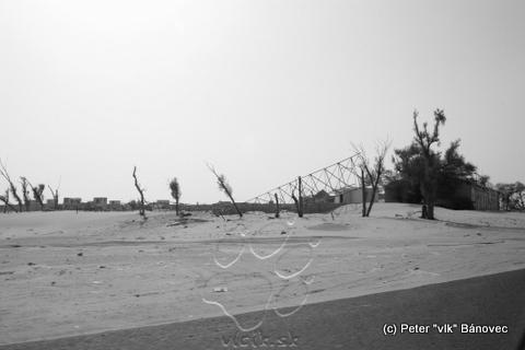 Po Iráckých vojskách ostával obraz skazy