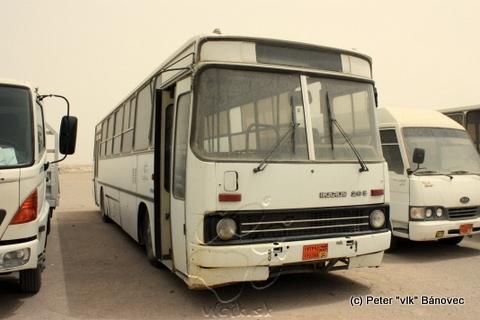 Autobus maďarského už neexistujúceho výrobcu IKARUS