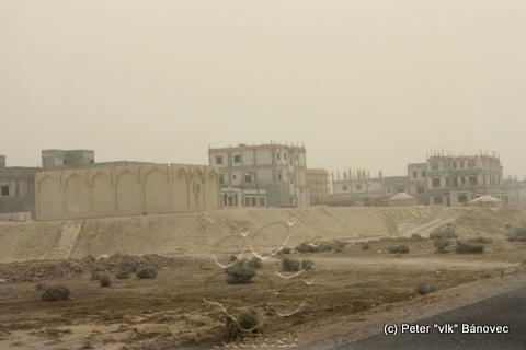 Novovznikajúce osady v púšti
