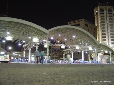 Autobusová stanica Mirqab v centre
