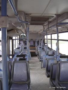 Interiér autobusu BUSSCAR