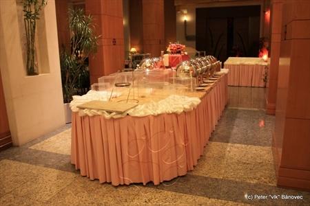 Kontinentálne raňajky boli v Holiday Inn servírované takto...