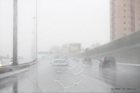 V Kuvajte aj prší!