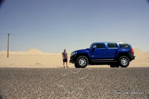 Prvá fotografia v púšti