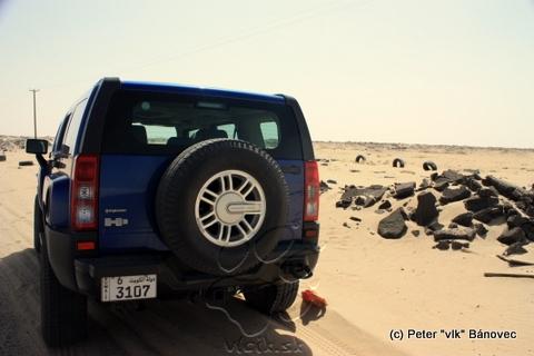 HUMMER H3 v púšti