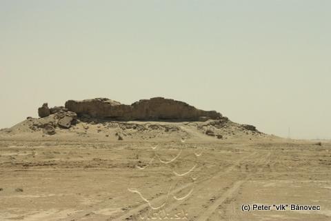 Skala v púšti