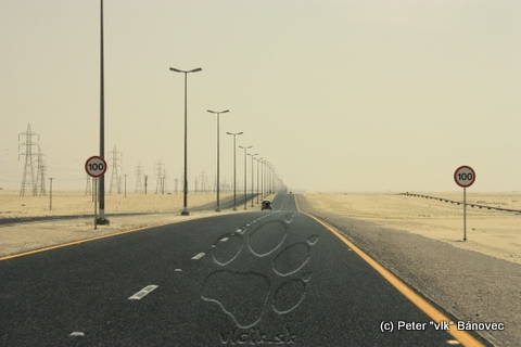 cesta cez púšť - dlhá a niet je konca kraja