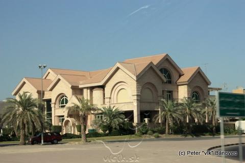Niektoré domy v Kuwaite stoja za to
