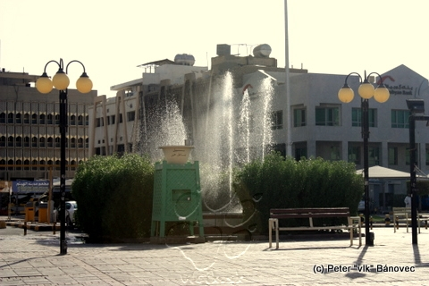 Fontána v Kuwait city