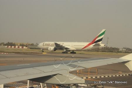 Lietadlo SAE na letisku Kuvajt