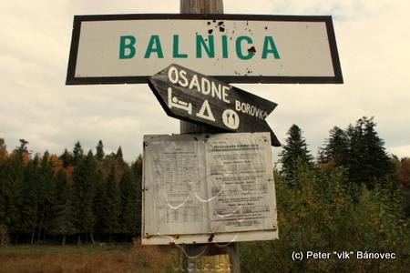 vlaková zastávka Balnica aj s cestovným poriadkom