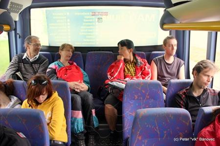 Cesta autobusom CROSSWAY 10.6 spoločnosti SAD Žilina