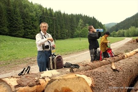 Občerstvovacia zastávka - sklad dreva