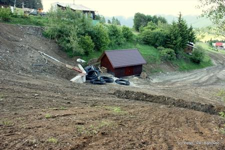 Terénne úpravy vo Fačkovskom sedle