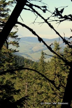 Pohľad z hrebeňa