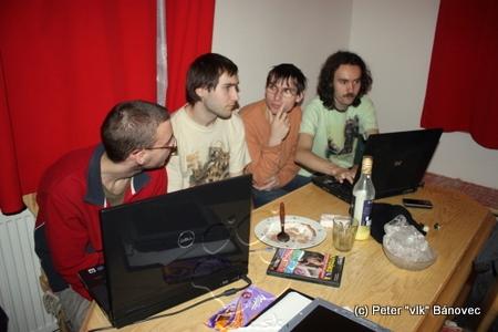 LAN párty na SnowFur-e