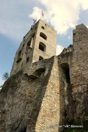 Likavský hrad je vskutku krásny