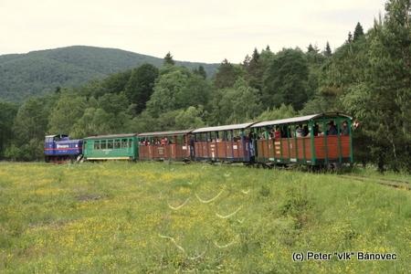 vláčik lesnej železnice