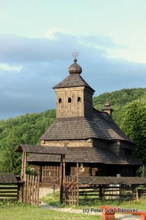 Drevený kostolík v Uličskom Krivom