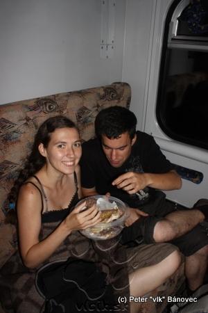 cestovanie sme si spríjemňovali sladkými dobrotami