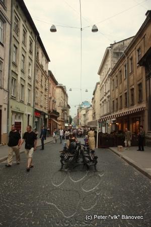 uličky centra mesta