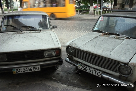 tradičné vozidlá značky LADA