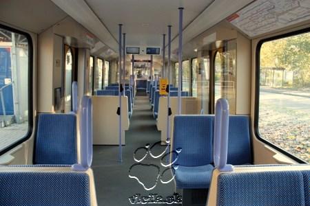 interiér súpravy ľahkej železnice výrobcu BOMBARIER