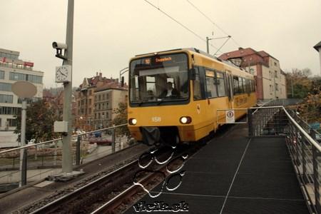 Ozubnicová železnica v Stuttgarte