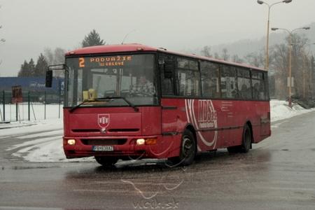 linka 2 do Povdažia so zachádzkou cez Orlové
