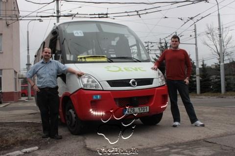 testovacia osádka Februárového víkendu bola zložená z vodičov Andreja a Peťa
