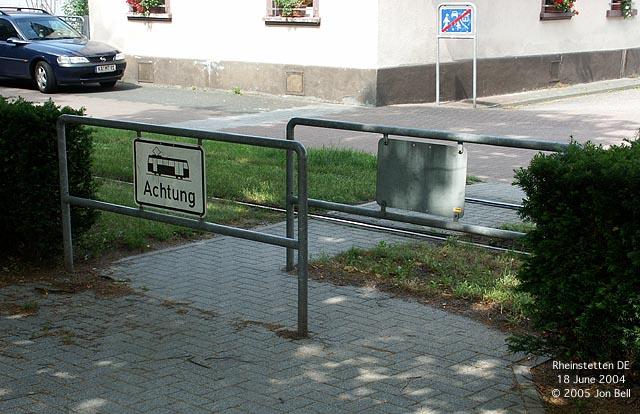 Z-kový priechod v Karlsruhe