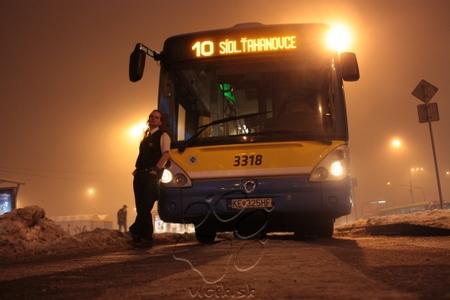 jednou z mojich záľub je jazdenie na autobusoch