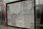 dnešný vzhľad zastávkových vitrín v Košiciach
